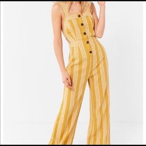 Yellow Urban Outfitters Jumpsuit
